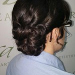 example of bridal updo in New Holland PA