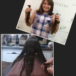 before and after women's Haircut in New Holland PA